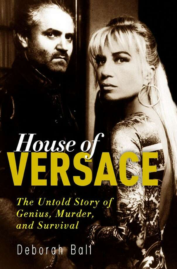"""In this book cover image released by Crown, """"House of Versace: The Untold Story of Genius, Murder, and Survival"""" by Deborah Ball is shown. (AP Photo/Crown)"""