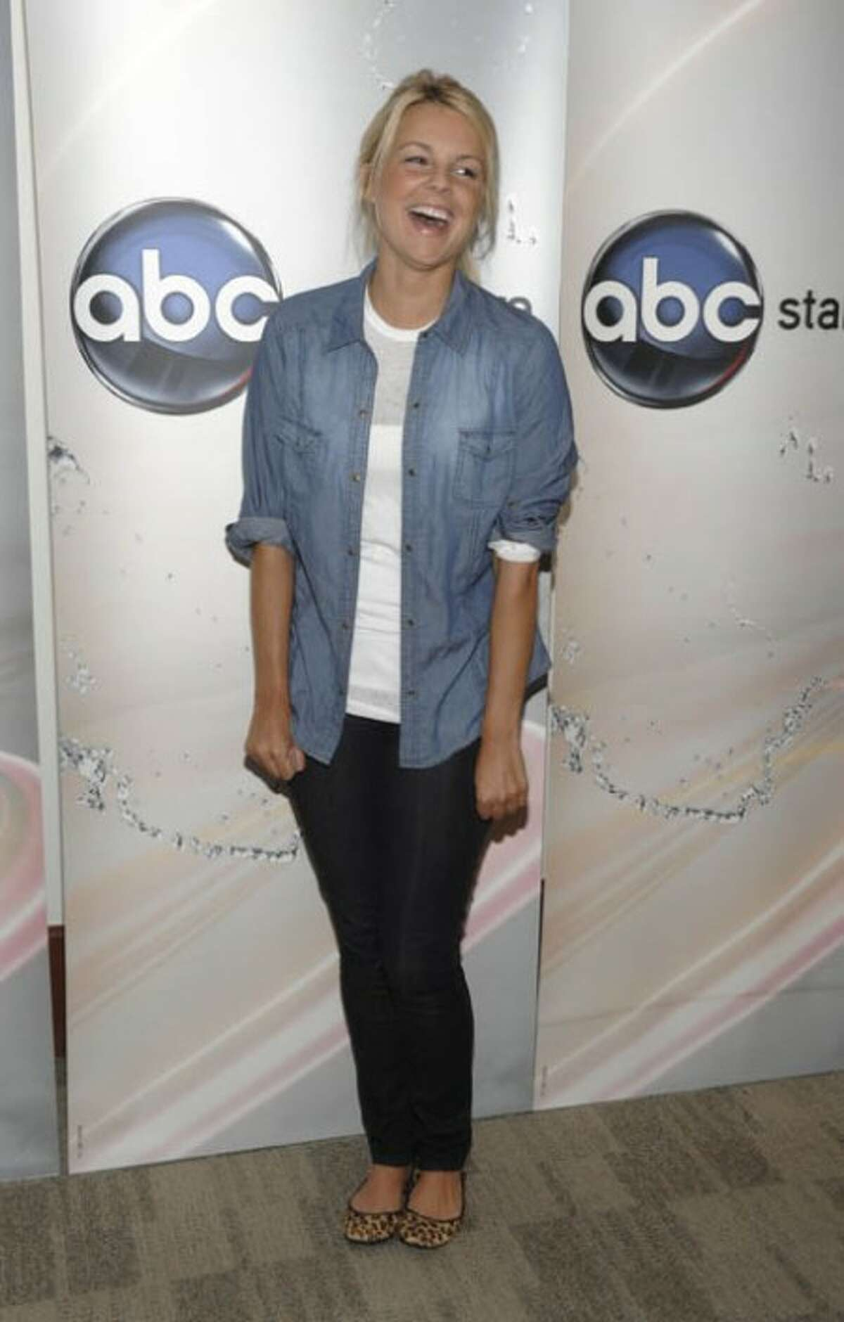 Television personality Ali Fedotowsky arrives at the Disney ABC Television Summer press junket in Burbank, Calif. on Saturday, May 15 , 2010. (AP Photo/Dan Steinberg)