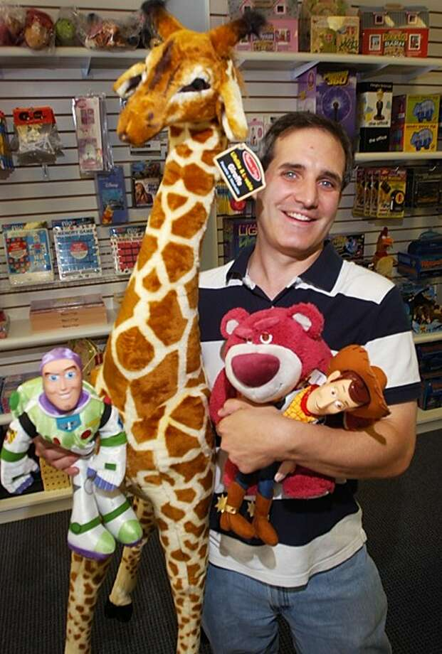 John Babina opened a new toy store, Polly Wolly Doodle at 607 Main Ave. in Norwalk, that makes shopping fun and easy. Hour photo / Erik Trautmann