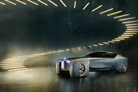 Rolls-Royce Vision Next 100 boasts futuristic designs, but maintains - and even elevates - their signature luxury features.