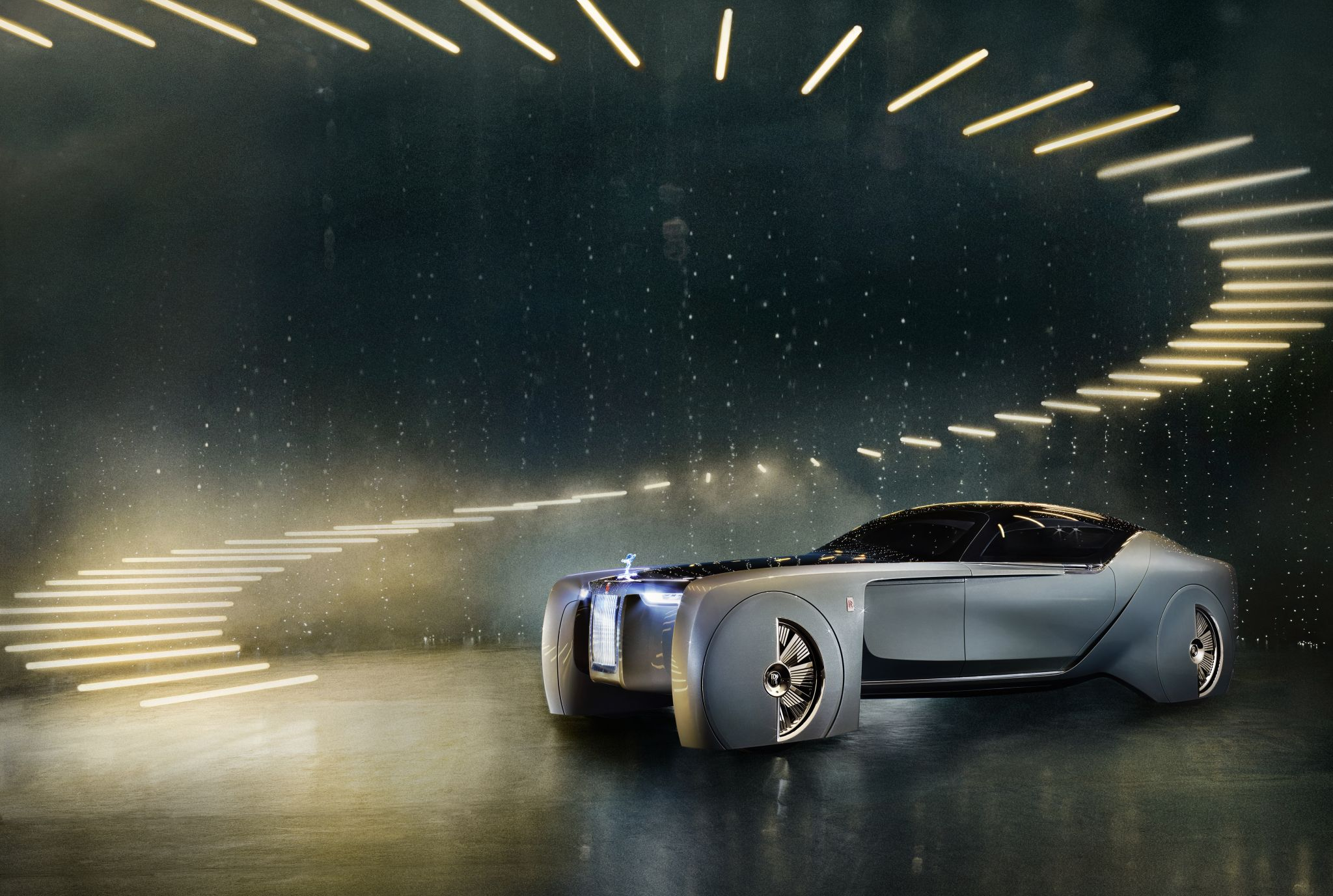 Rolls-Royce reveals epic concept car that is of the future