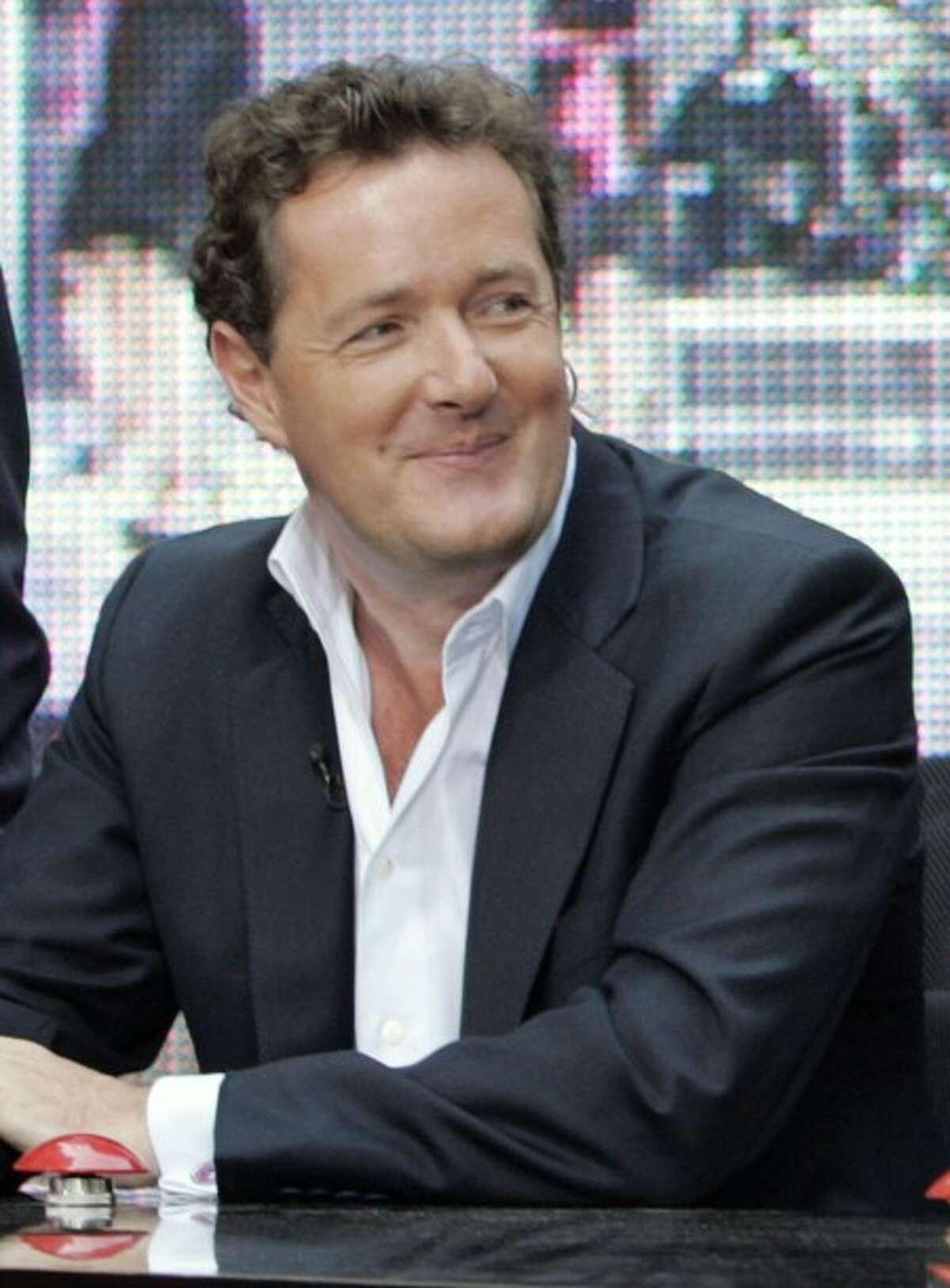 Piers Morgan, celebrity judge of the NBC televison program