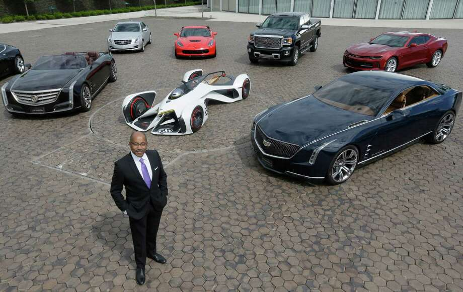 Ed Welburn, head of global design for General Motors, shows some concept and production vehicles at the company's technical center in Warren, Mich.  Photo: Carlos Osorio, STF / Copyright 2016 The Associated Press. All rights reserved. This material may not be published, broadcast, rewritten or redistribu