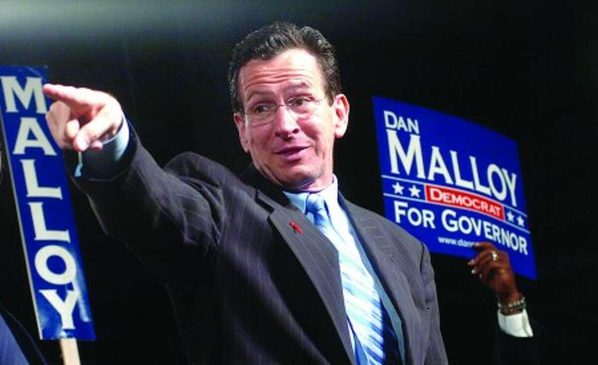 Dan Malloy wins at the democratic convention on Saturday photo;alex von kleydorff file---05-28-06
