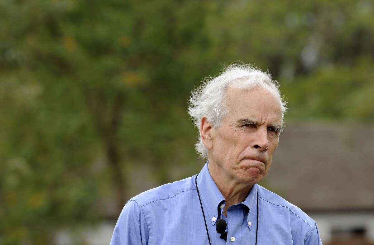 US billionaire Douglas Tompkins talks in his property in Ibera, near Carlos Pellegrini in Corrientes Province, Argentina, on November 5, 2009. Tompkins, 72, passed away on December 8, 2015, died of hypothermia after a kayak accident at a lake in the south of Chile, medical sources informed. AFP PHOTO/DANIEL GARCIA DANIEL GARCIA/AFP/Getty Images