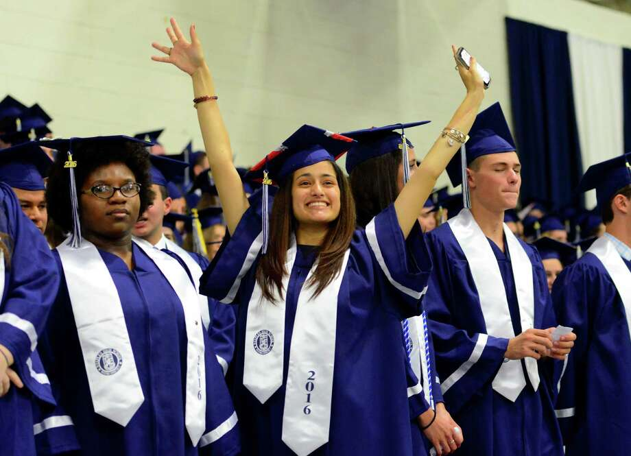 Click through the slideshow to see the lowest and highest-performing high schools in Southwestern Connecticut.  Photo: Christian Abraham / Hearst Connecticut Media / Connecticut Post