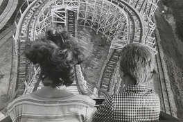 Astroworld Texas Cyclone roller coaster ride. June 22, 1976