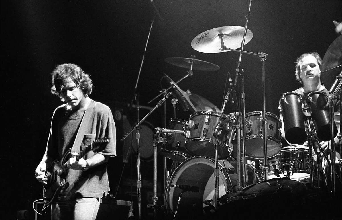 The Grateful Dead, 1985 at Southern Star Amphitheater at Astroworld- Paul M.