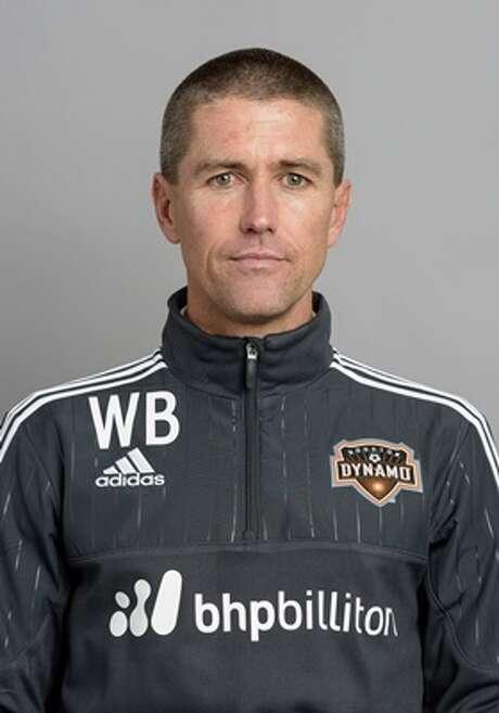 Wade Barrett Houston Dynamo assistant coach  2016 MLS photo Photo: Wilf Thorne / © Wilf Thorne