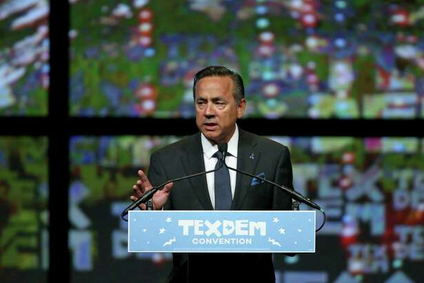 Sen. Carlos Uresti speaks during the 2016 Texas Democratic Convention held Friday June 17, 2016 at the Alamodome.