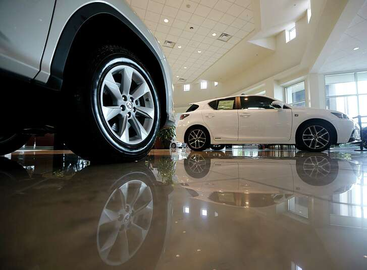 Area auto dealers, such as Sterling McCall Lexus, are confident that the summer will bring them stronger sales.
