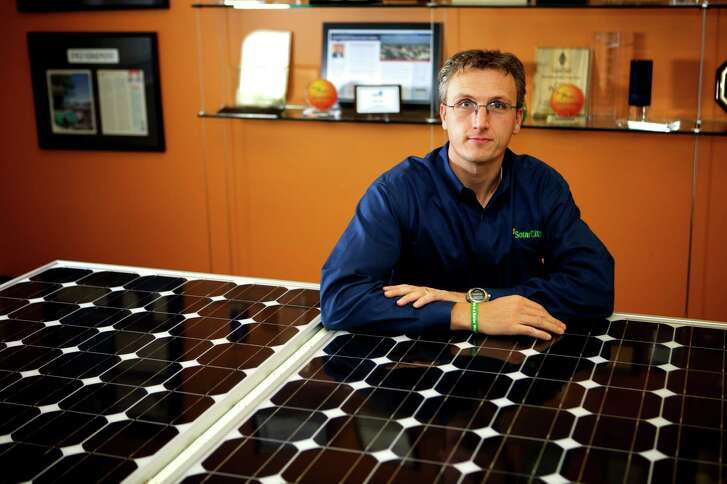 CEO Lyndon Rive estimates Solar City can sell electricity for about 10 cents per kilowatt-hour.