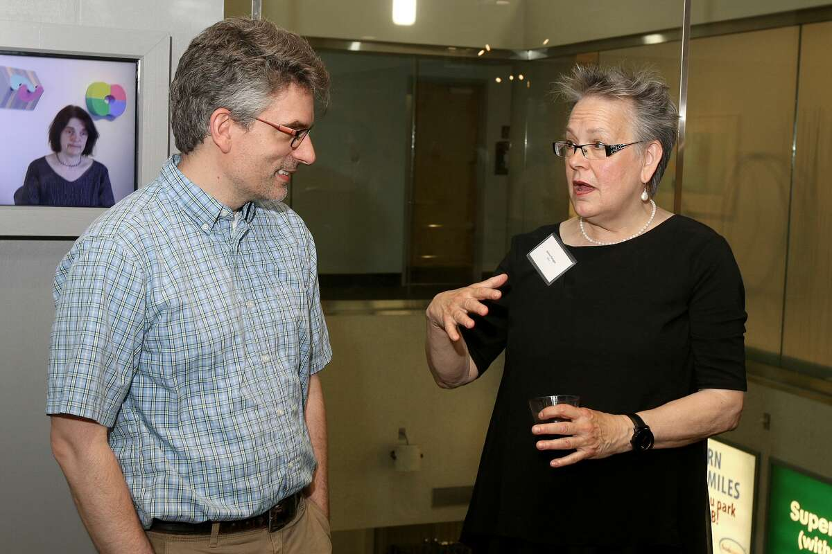 Were You Seen at theopening reception of Staying Power,an exhibition producedas atribute to Art & Culture Program founding director Sharon Bates, at the Albany International Airport Gallery on Friday, June 17, 2016?