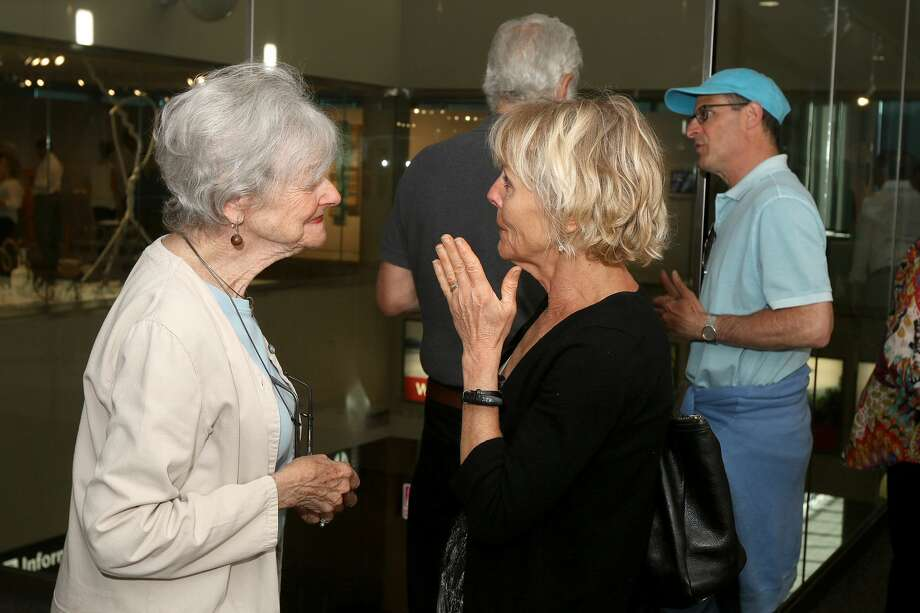 Were You Seen at theopening  reception of Staying Power,an exhibition producedas atribute to  Art & Culture Program founding director Sharon Bates, at the Albany  International Airport Gallery on Friday, June 17, 2016? Photo: Joe Putrock/Special To The Times Union