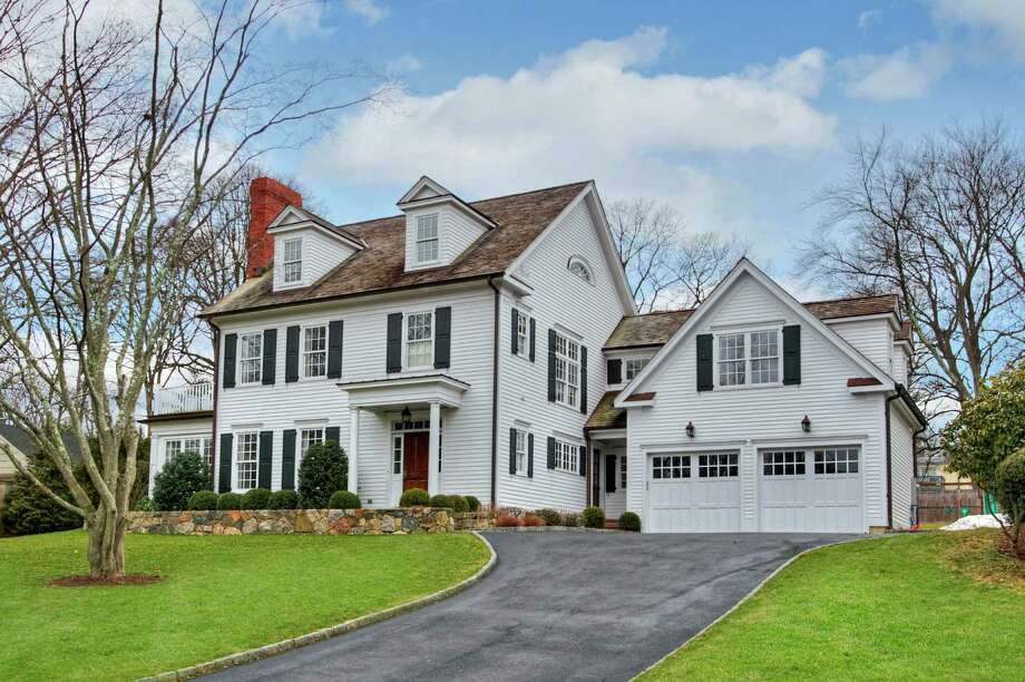 With a desirable in-town location, beautiful new construction and the prestigious 2011 Hobi award for Best In-Town Custom Home, this five-bedroom Colonial has plenty to offer for potential buyers. Photo: Contributed Photos / New Canaan News