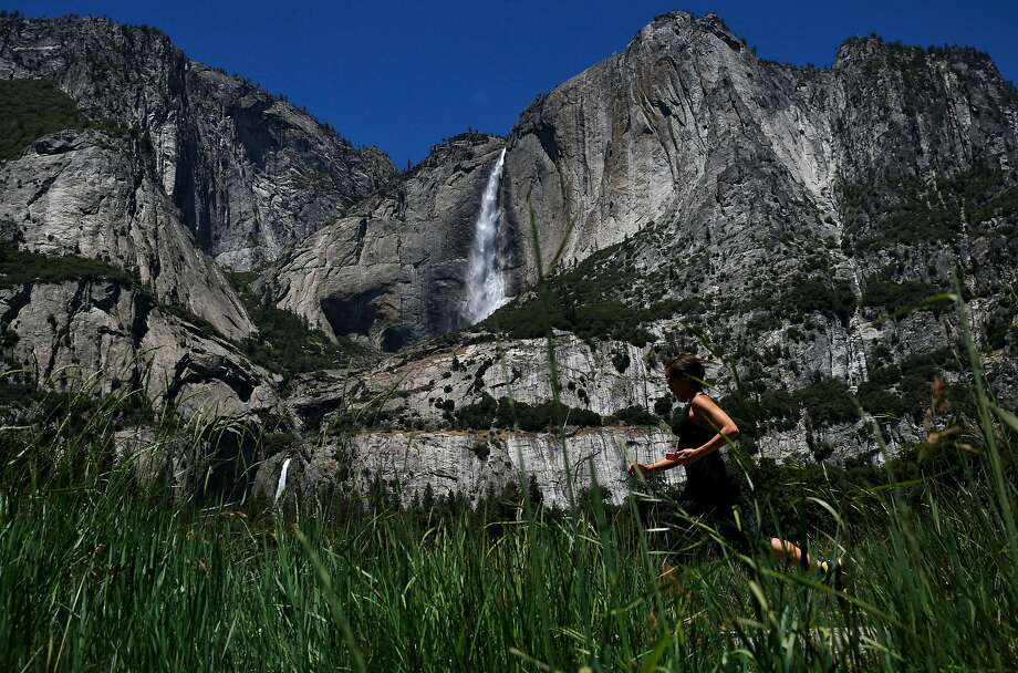 Attorneys general from nine states, including California, are challenging the Trump administration's plan to raise entrance fees at 17 national parks, including Yosemite. Photo: Leah Millis, The Chronicle