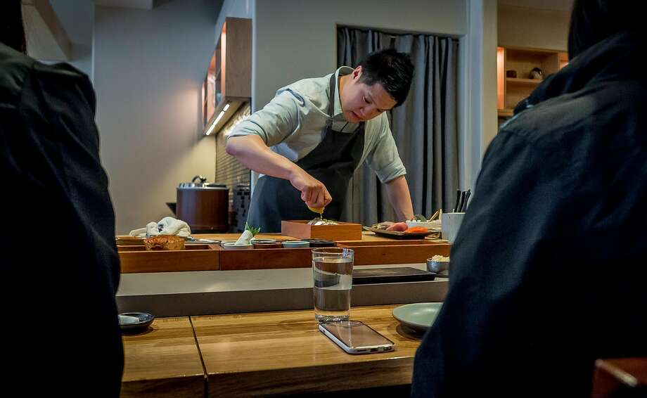 Chef Geoffrey Lee has made Ju-ni into a San Francisco sushi destination. Photo: John Storey, Special To The Chronicle