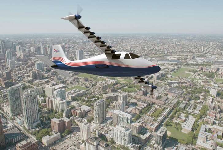 The X-57 will feature 14 electric motors and be quieter than a typical plane. It will have a range of about 100 miles and an hour or less of flight time.