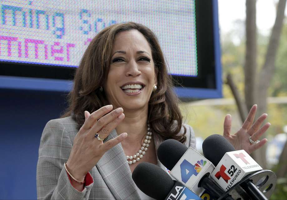 California Attorney General Kamala Harris, who won the Senate primary, expects to raise more money for the general election. Photo: Nick Ut, Associated Press