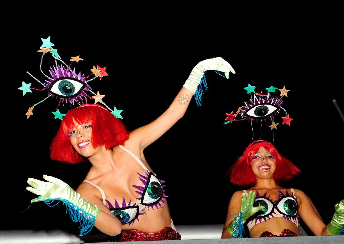 Insomniac dancers perform.