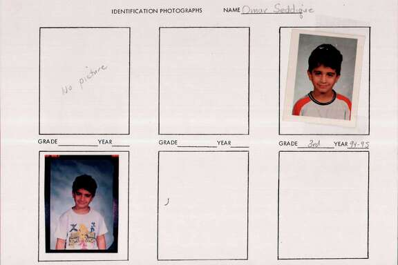 Omar Mateen, shown as a third-grade student in Florida, had difficulty focusing on classwork. He was formally disciplined more than 30 times in elementary and middle schools.