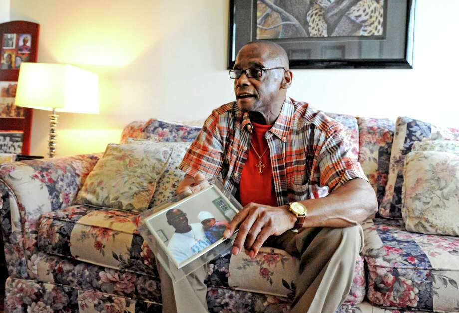 Alfred Leigh, 63, formerly homeless and alcoholic, who burned bridges with his kids and grandkids in his dark days, talks about how he turned his life around on Thursday June 16, 2016 in Albany, N.Y. (Michael P. Farrell/Times Union) Photo: Michael P. Farrell / 40037006A
