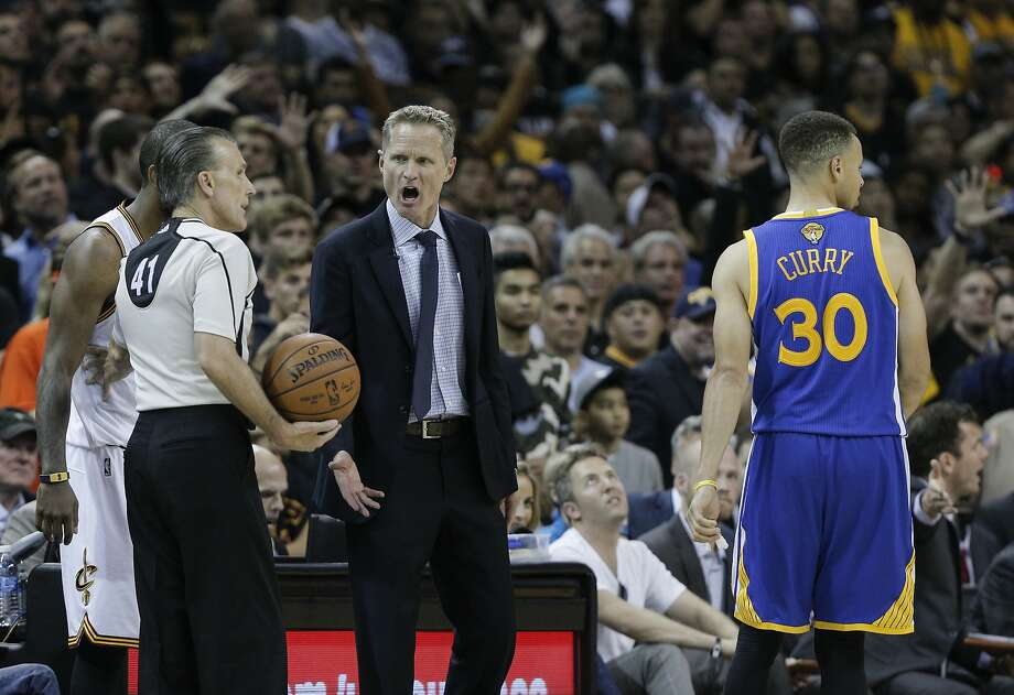 Golden State Warriors' Coach Steve Kerr absolutely understands and accepts criticism, even when it is knee-jerky and ill-informed. Photo: Carlos Avila Gonzalez, The Chronicle