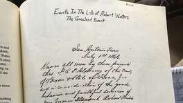 "Descendants of the Winters family have a copy of the emancipation letter where E.C. Alsbury freed their ancestor Robert ""Bob"" Winters from slavery. The short letter is written in longhand and has ""San Antonio, Texas,"" and ""July 1st, 1866,"" at the top. In the letter, Alsbury credits Winters for ""faithful service"" and gives him possession of two horses. Alsbury also helped Winters buy land."