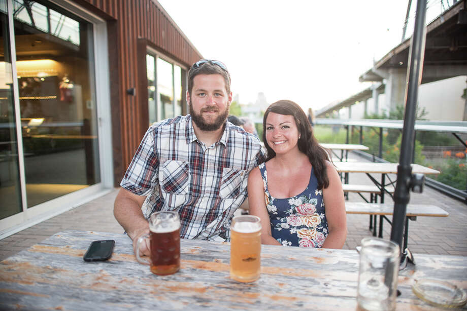 Alamo Beer hosted the INDEP Arts & Film Festival Saturday, June 18, 2016, at the brewery. In addition to the art, music, movies and food there was plenty of beer. The event was part of San Antonio Local Music Week. Photo: By Chavis Barron For MySA.com
