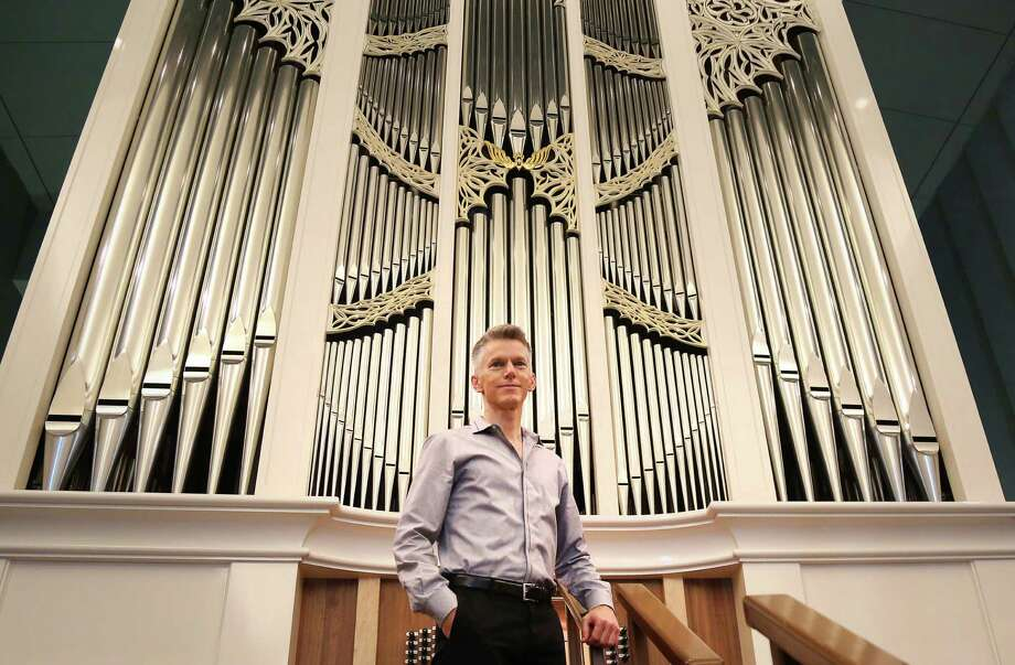 Matthew Dirst, a professor of music at the University of Houston and the artistic director of Ars Lyrica Houston, poses for a portrait at Saint Philip Presbyterian Church, Sunday, June 19, 2016, in Houston. Photo: Jon Shapley, Houston Chronicle / © 2015  Houston Chronicle