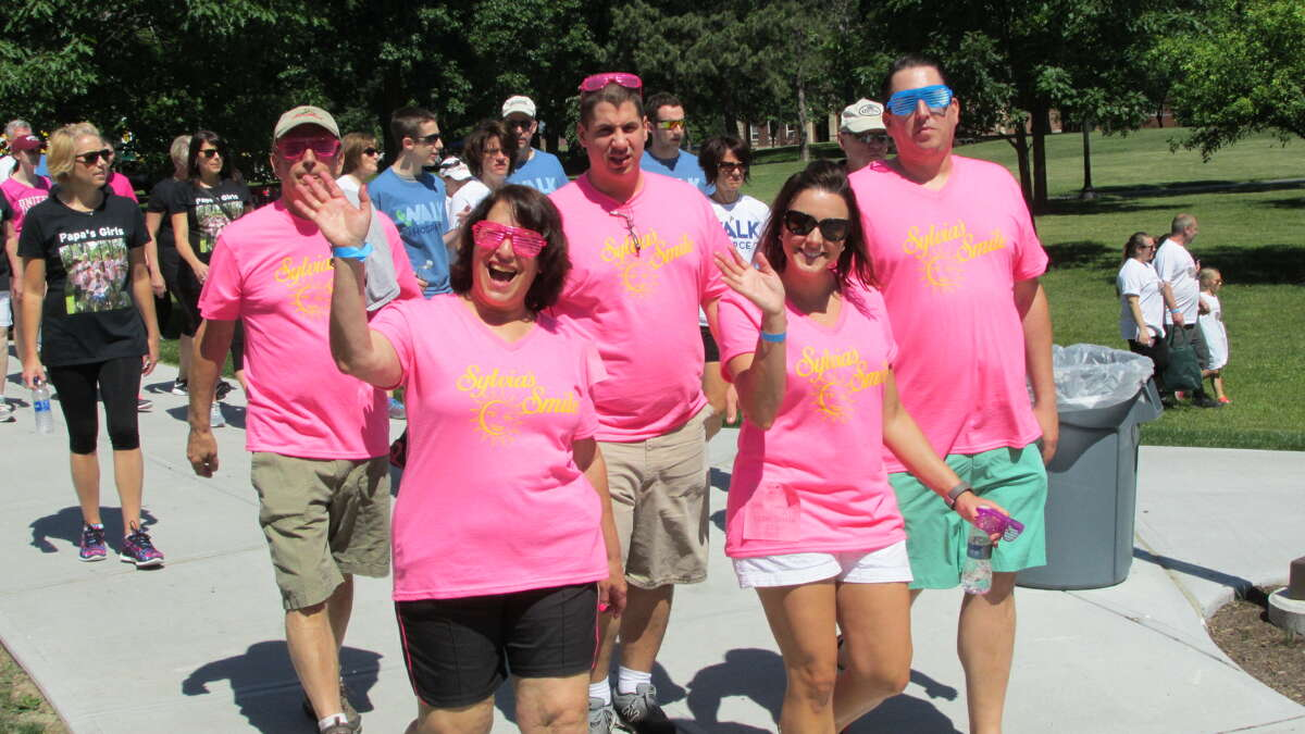 Were you Seen at the Community Hospice's Walk for Hospice event at Siena College in Loudonville on Saturday, June 18, 2016?