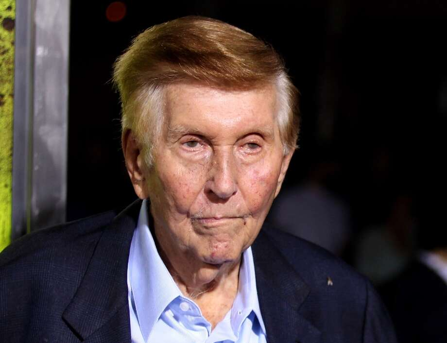 Sumner Redstone's family theater company said Thursday, June 16, 2016, it has replaced five directors from Viacoms 11-member board, including CEO Philippe Dauman, and filed court papers in Delaware to defend its actions. Its the latest move to reassert control even as lawyers battle over whether Redstone is mentally competent to run the multibillion-dollar media companies Viacom and CBS. Photo: Matt Sayles /Associated Press / Invision