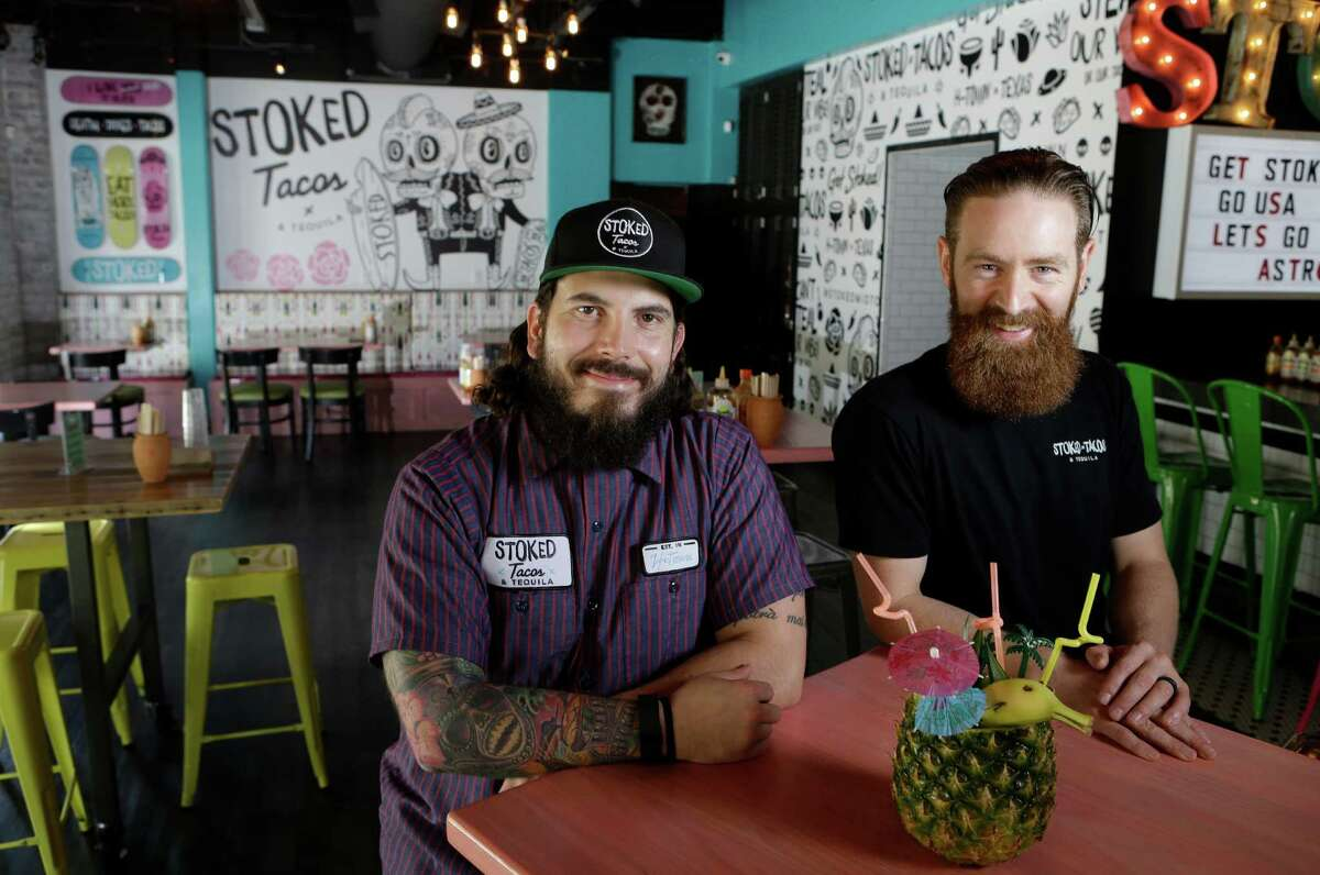 Owners Adam Puskorius, left, and Keith Doyle, right, have decided to close Midtown's Stoked Tacos & Tequila.