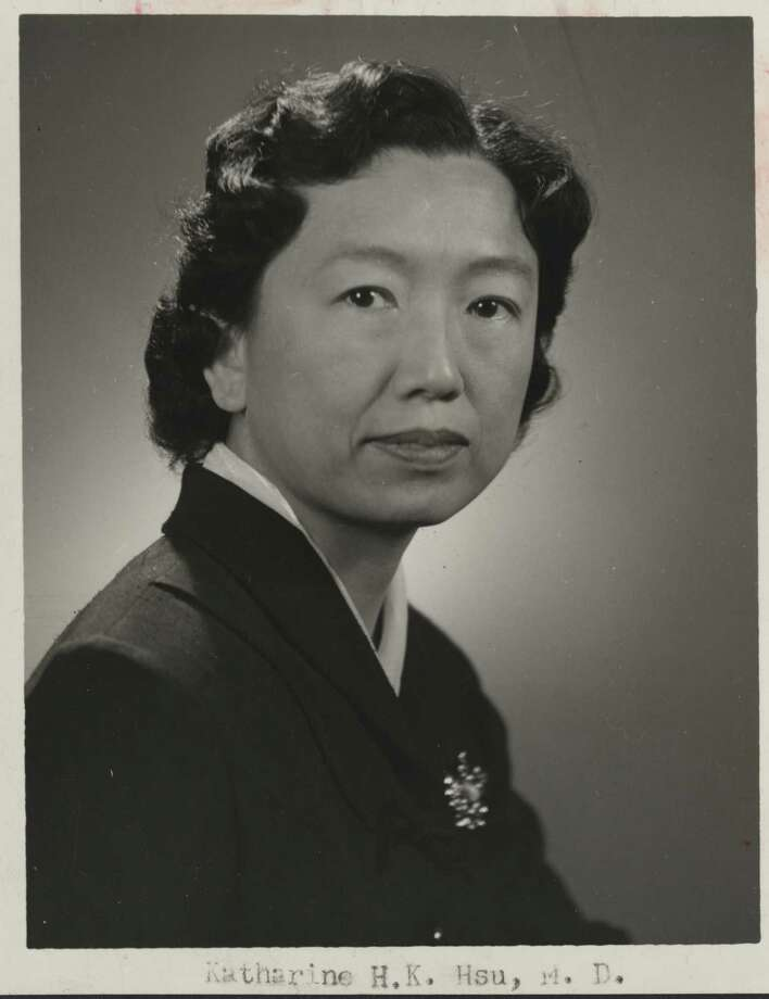 Dr. Katharine Hsu moved to Houston in 1953 and became an expert on childhood tuberculosis. (Handout photo) / handout