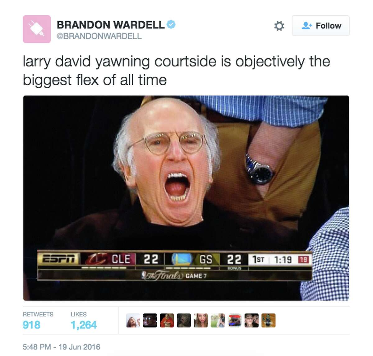 Larry Davis was courtside, but he wasn't impressed by what he saw. Or it was past his bedtime.