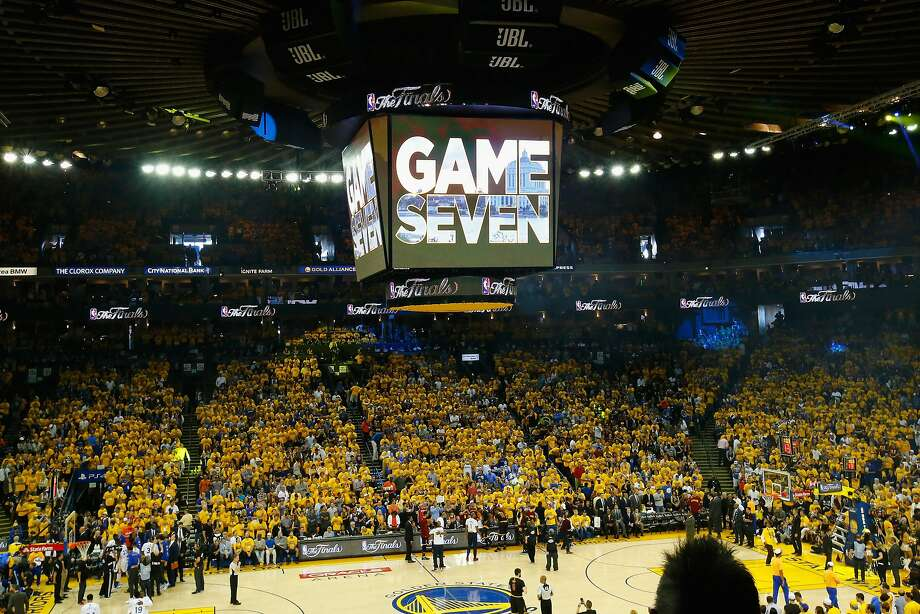 Fan falls during Game 7 NBA Finals at Oracle Arena - SFGate