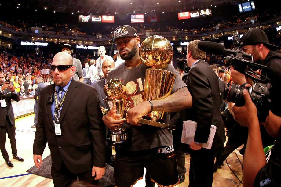 6a583767086d LeBron James wins NBA Finals MVP for 3rd time - Midland Reporter ...
