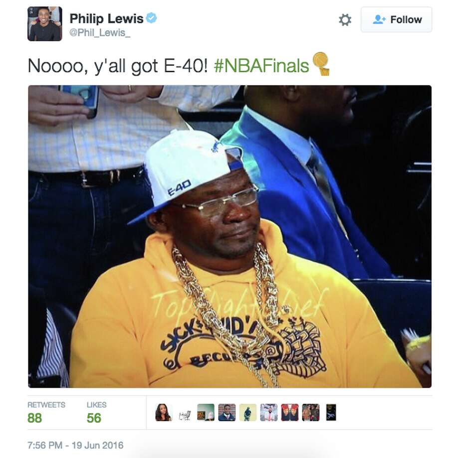 Fans reacted to Game 7 of the NBA Finals on social media. Photo: Twitter Screenshot
