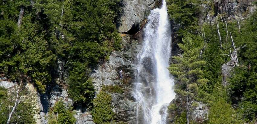 Roaring Brook Falls in Keene, Essex County (State Department of Environmental Conservation)