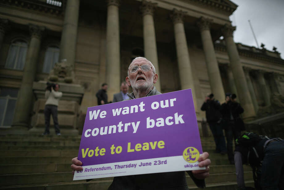 Voters in the U.K. will vote Thursday on whether to leave the European Union. Texas secessionists, whose cause has earned a heightened profile recently, hope that the results in Britain will energize their movement at home. Click through our slideshow to see more about Texas secession.