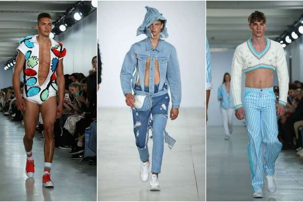 Keep clicking for a look at more crazy fashion we saw this year.