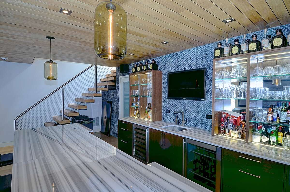 392 Brushy Ridge Rd, New Canaan, CT 06840 3 beds 5 baths 3,947 sqft Features: Ultra-modern design, light-up sink, mosaic tiling, outdoor patio with radiant heat and fireplace View full listing on Zillow