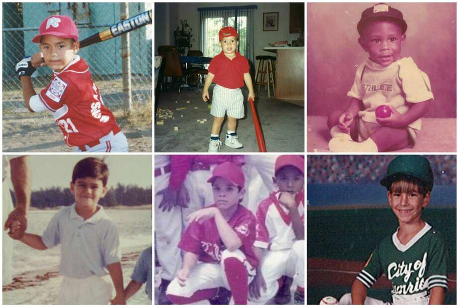 PHOTOS: Astros players when they were kids We pulled photos of Astros players when they were just aspiring ballplayers.  See if you can pick out each Astros player just by looking at their childhood photos ... Photo: Instagram