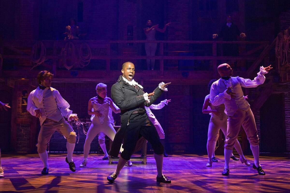 Leslie Odom Jr., who won a Tony for his portrayal of Aaron Burr, in