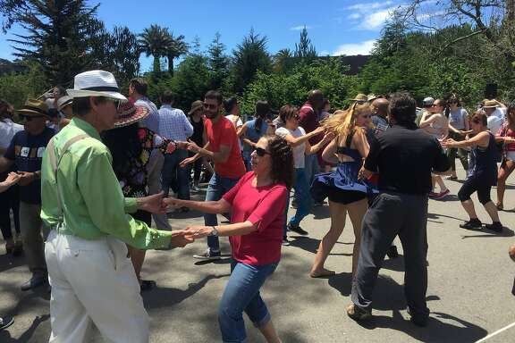 Lindy Hoppers gather every Sunday at Golden Gate Park