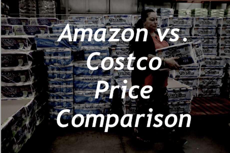 Amazon vs. Costco: A price comparison