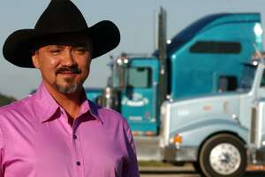 Trucking tycoon Bill Hall Jr., seen in this 2005 photo, received $476,631 in grants from the state to buy environmentally friendly trucks. The state later sued his estate to recover a portion of the grant money. Hall was killed in 2013.