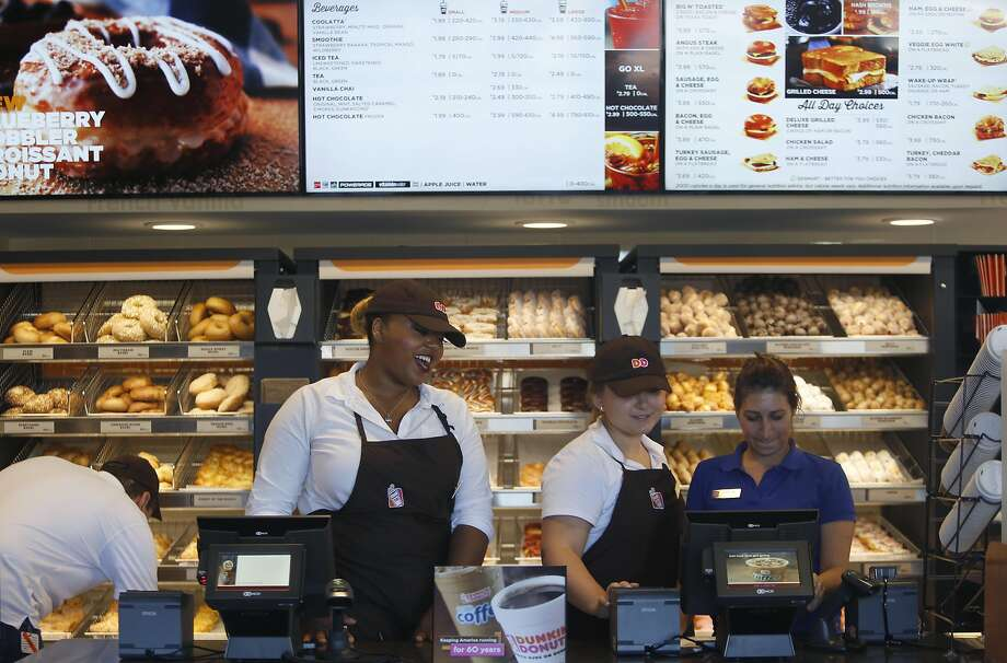 The Bay Area's very first Dunkin' Donuts shop is opening on Wednesday. Photo: Liz Hafalia, The Chronicle