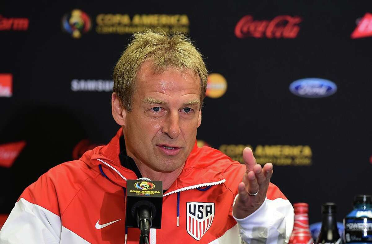 #8. Jurgen Klinsmann has changed the game. For decades United States Soccer has been desperate for a head coach who could install the elements necessary for the U.S. to compete on an international level. Klinsmann is a former player who enjoyed a tremendous amount of success on the international stage. As a manager, he led the German national team to a third-place finish in the 2006 World Cup. In 2011, he was named manager of the U.S. Men's Team, proceeded to win the 2013 CONCACAF Gold Cup, and was subsequently named CONCACAF Coach of the Year. In 2014, after controversially leaving U.S. Soccer icon Landon Donovan off of the U.S. Men's Team's World Cup roster, he lead the U.S. to the World Cup Round of 16 in Brazil. Klinsmann has changed the game for U.S. Soccer. He marches to the beat of his own drum and he asks more of this team than any previous manager has. (FREDERIC J. BROWN/AFP/Getty Images)
