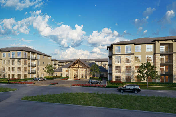Broadstone Woodmill Creek is a four-story, 380-unit apartment community off Sawdust Road that expects to welcome new tenants in July.